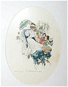 Art Print Harrison Fisher American Girl Japan