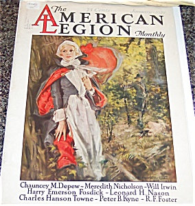 Howard Chadler Christy Prints> Colonial > Puritan Lady . Man 1927