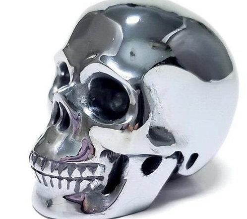 Rare Terahertz Crystal Skull - Negative Ion Energy transmitter, Scrying crystal