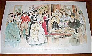 Antique Prints: Color Engraving Cj Taylor Fashion 1880's