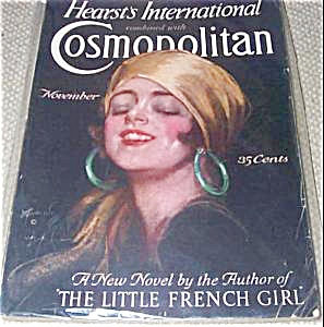 1926 Vintage Cosmopolitan Magazine Back Issues Harrison Fisher Cover art