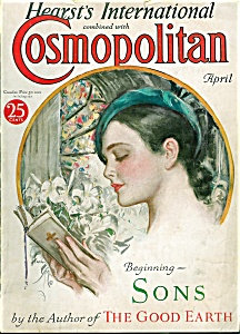 Cosmopolitan Magazine April 1932 Harrison Fisher Cover