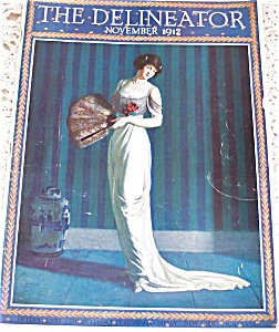 Antique & Vintage Prints Fashion Ads Delineator Magazine Cover