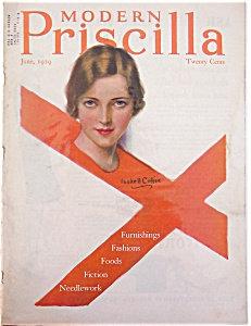 Haskell Coffin Illustrated Modern Priscilla Magazine Cover Art