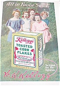 Kelloggs Toasted Corn Flakes : Girls, Children Cereal Ad