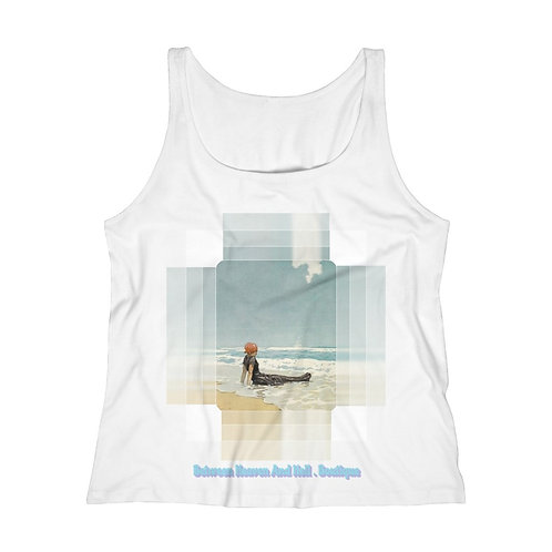 Tranquility Beach Tank Top Wearable Art Fashion Shirt Cotton Jeresey Apparel