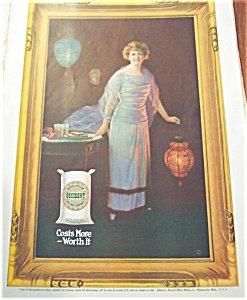 Vintage Kitchen Illustration Ad Prints: Baking : Flour