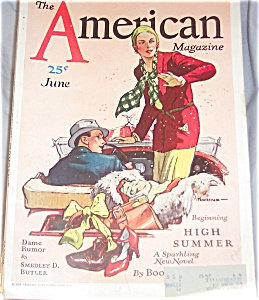American Magazine June1931 Travel Jay Hyde Barnum