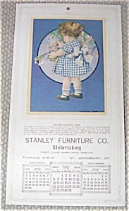 Babies & Children Prints: 1923 Calendar Little Girl