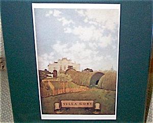 Vintage Art Maxfield Parrish Antique Print Villa Gori