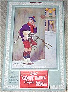 Vintage Scottish Art Calendar Humerous 1945