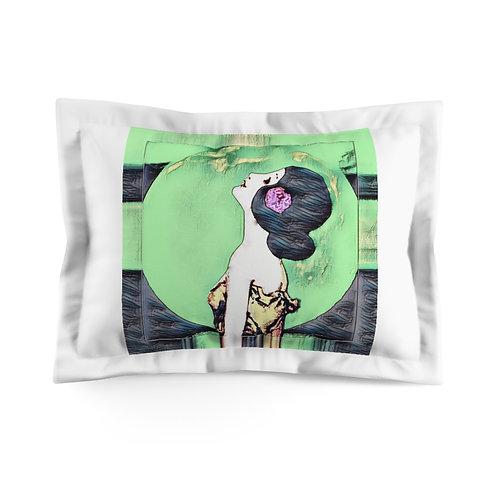 BOHO Chic Microfiber Pillow Sham Spiritual Bedroom Decor Full Moon Starlight