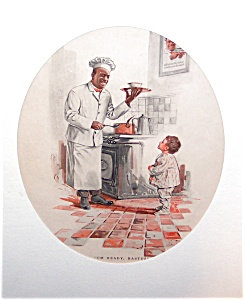 Kitchen Prints: Vintage Color Cream Of Wheat Cereal Ad