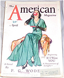 American Magazine Cover Art John Lagatta Afternoon Tea