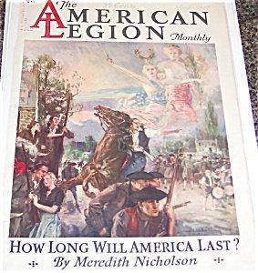 Vintage Print Howard Chandler Christy Colonial Scene Angels