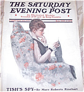 Saturday Evening Post Magazine: Charles Mclellan 1915