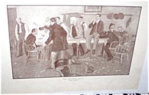 Antique & Vintage Prints: Obstinate Juror Orson Lowell