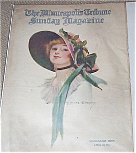 Antique & Vintage Prints: Earl Christy Magazine Cover