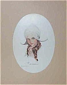 Antique Dutch Girl Harrison Fisher Print