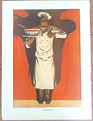 Vintage Cream Of Wheat Ad Walter Whitehead Illustration Encore