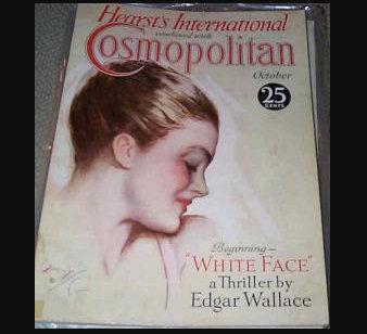 1930 Vintage Cosmopolitan Magazine Harrison Fisher Cover Art Deco Erte, Ads