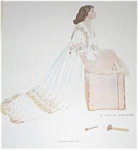 Coles Phillips Fade Away Girl Bedroom & Vanity Prints