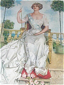 Howard Chandler Christy Print American Girl, Princess