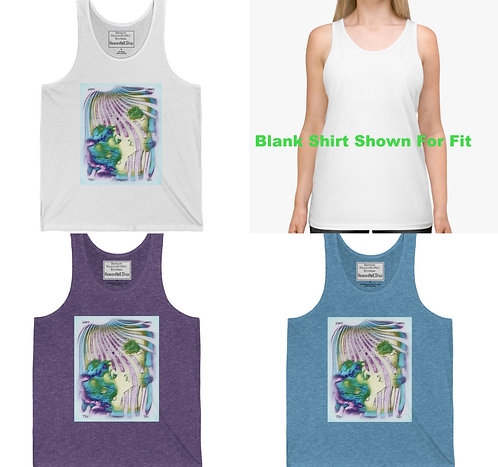 Here Comes the Sun Soft Cotton Tank Top Trendy Summer Fashion