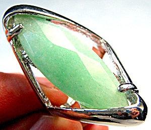 Jasper Jewelry Large Silver Ring