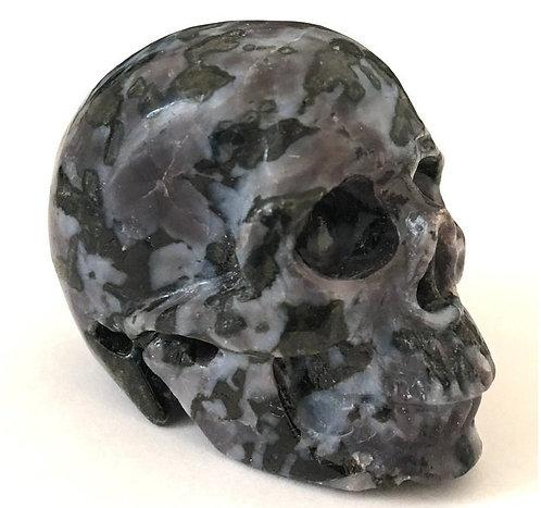 Activated Psychic Ability Crystals Mystic Merlinite Skull Indigo Gabbro