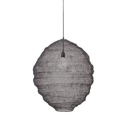 Pendant Lamp noir métal