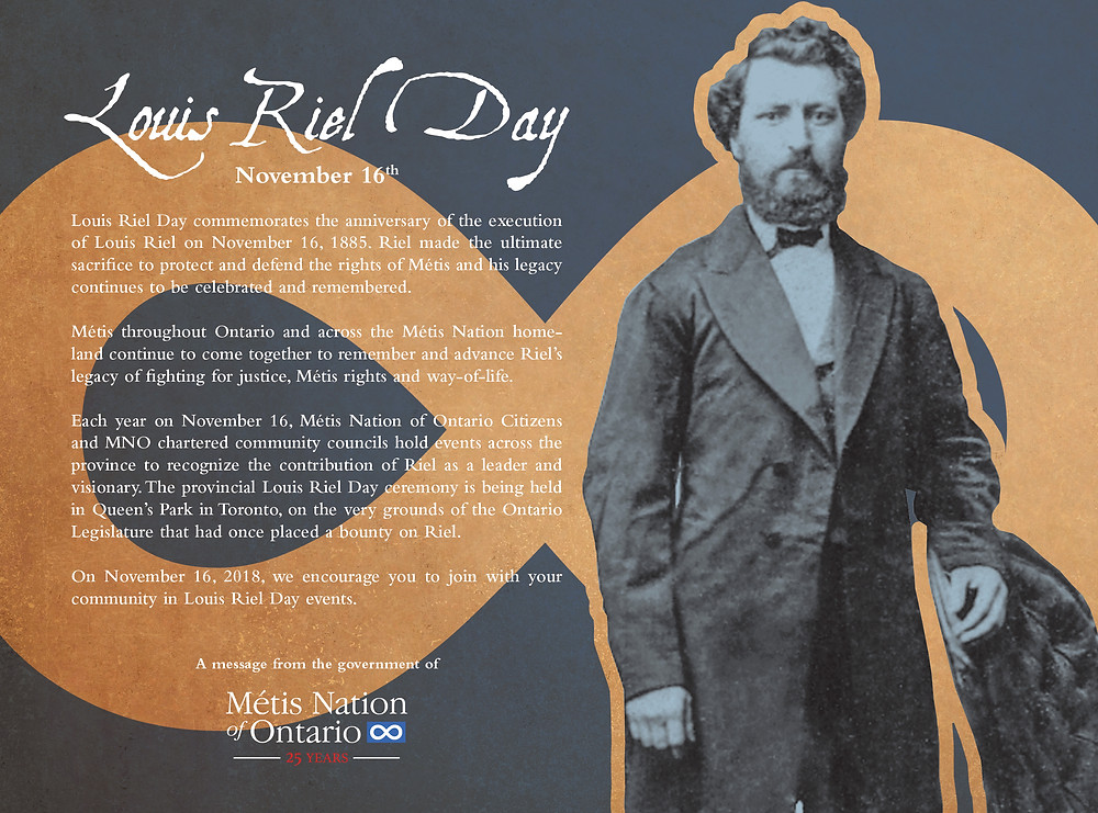 Louis Riel Day message from the MNO