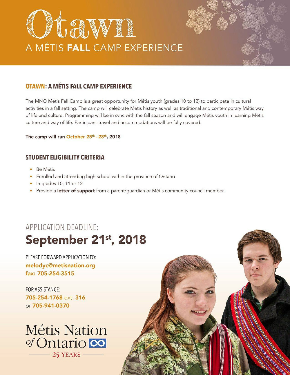Otawn: Métis Fall Culture Camp