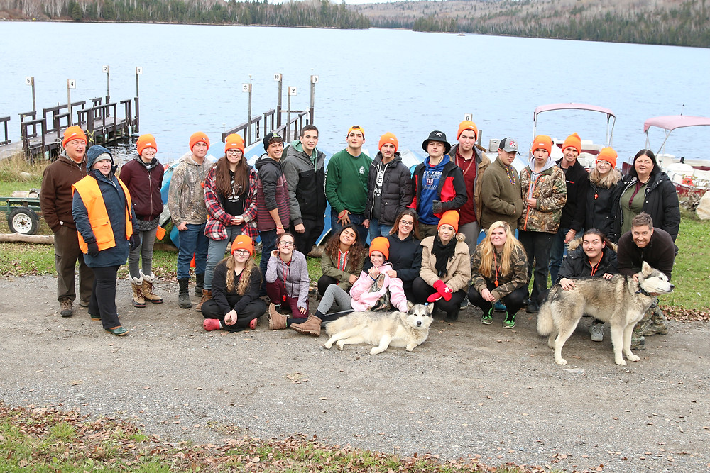 The fall Métis Youth Cultural Camp, which brought  together Métis youth for a celebration of Métis history and  culture, took place Oct. 25-28 at the Horwood Lake Lodge,  near Timmins.