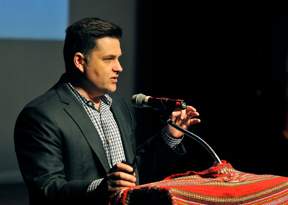 Métis lawyer and MNO legal counsel Jason Madden  provided an update about Métis rights and self-government  during the MNO's Annual General Assembly in  Peterborough on Aug. 18.