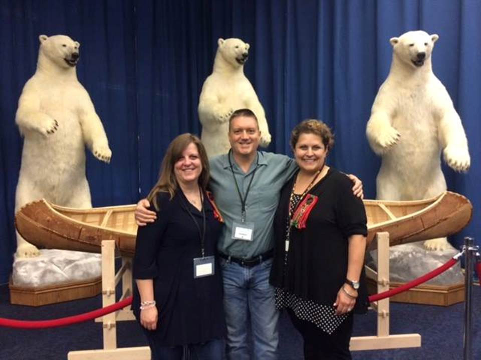 MNO GRMC tours North American Fur Auctions Head Office