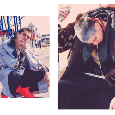 Wreckless Mode x Cool America Mag