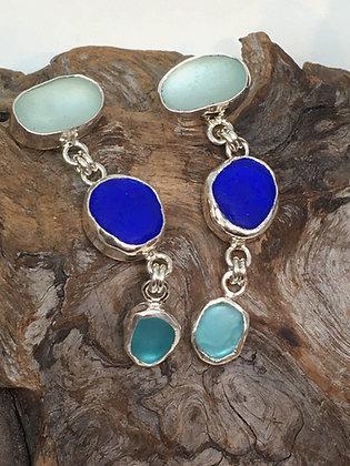 Colors of the Sea Earrings