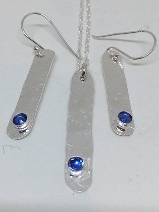 Swarovski Blue Crystal Set