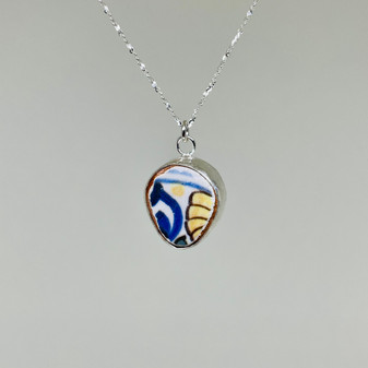 English Pottery Pendant