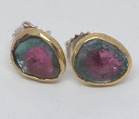 Maine Tourmaline Earrings