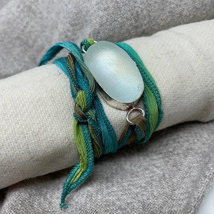 Radiant Wrap Seaglass Bracelet
