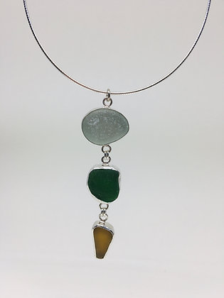 Sea Colors Seaglass Necklace