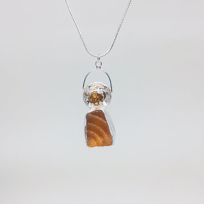 Golden Topaz Necklace