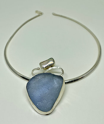 Lavender and Pearl Seaglass
