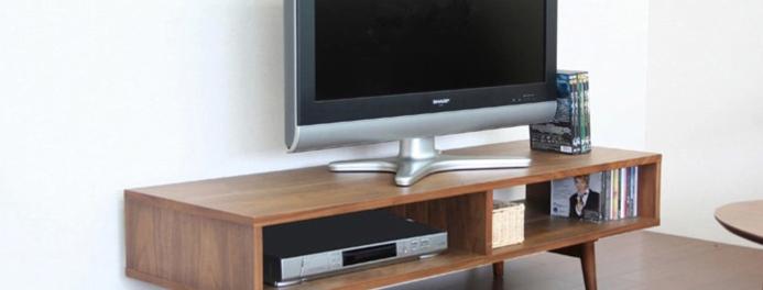 簡約實木電視櫃