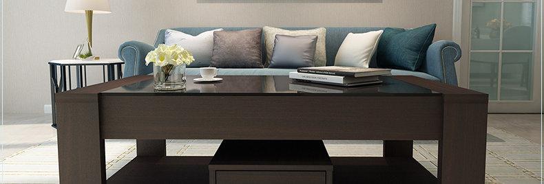 現代客廳鋼化玻璃茶几 D103-1005