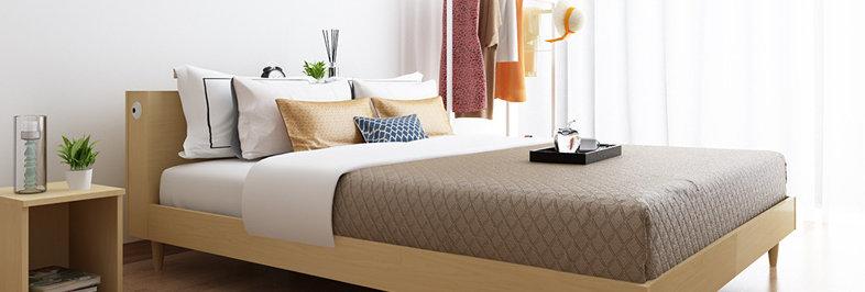 簡約臥室床 P103-1003
