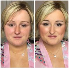 Bridal makeup in Powys, Wales