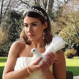 Wedding makeup in ludlow